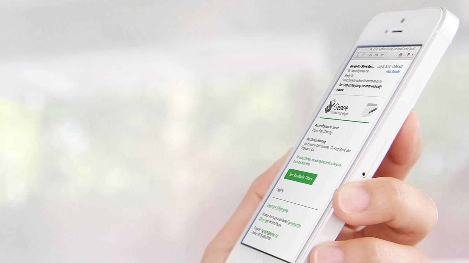 Application iPhone Genee - Office 365 - Darest Informatic