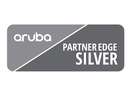Aruba Partner Edge Logo - Darest Informatic