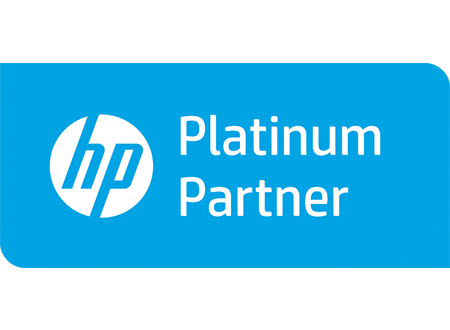 Logo HP Platinum Partner - Darest Informatic