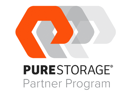 Pure Storage Partner Program Logo - Darest Informatic