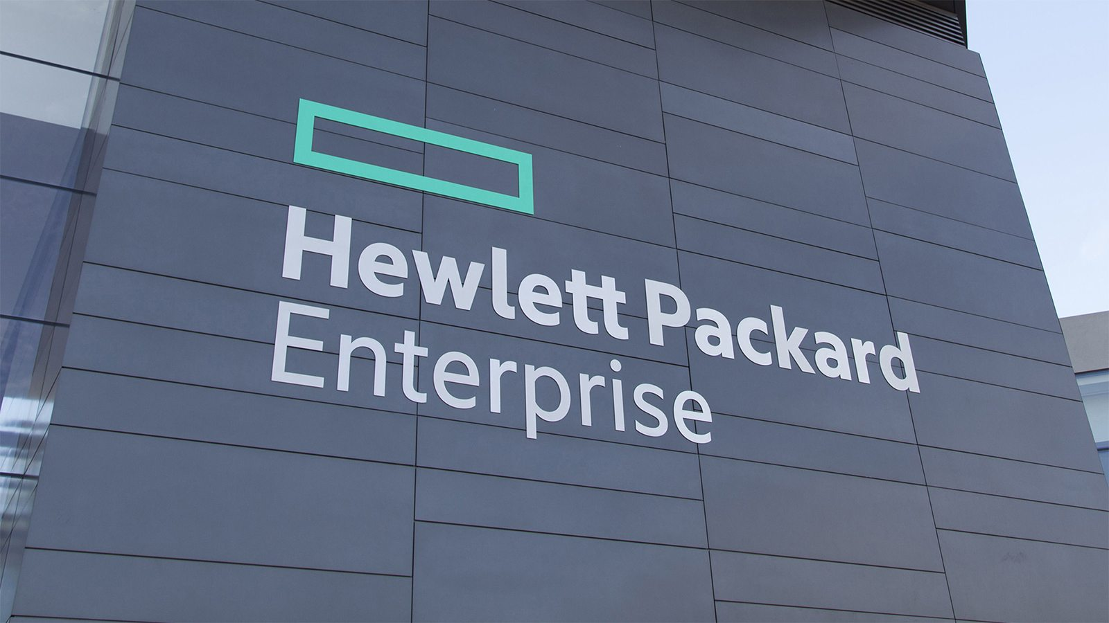 Batîment HPE - Hewlett Packard Enterprise
