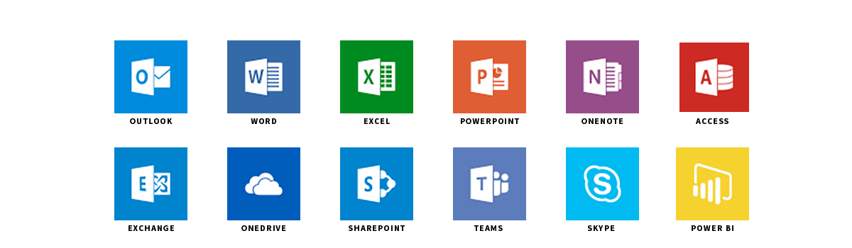 Applications Office 365 - Plan Entreprise - Darest Informatic