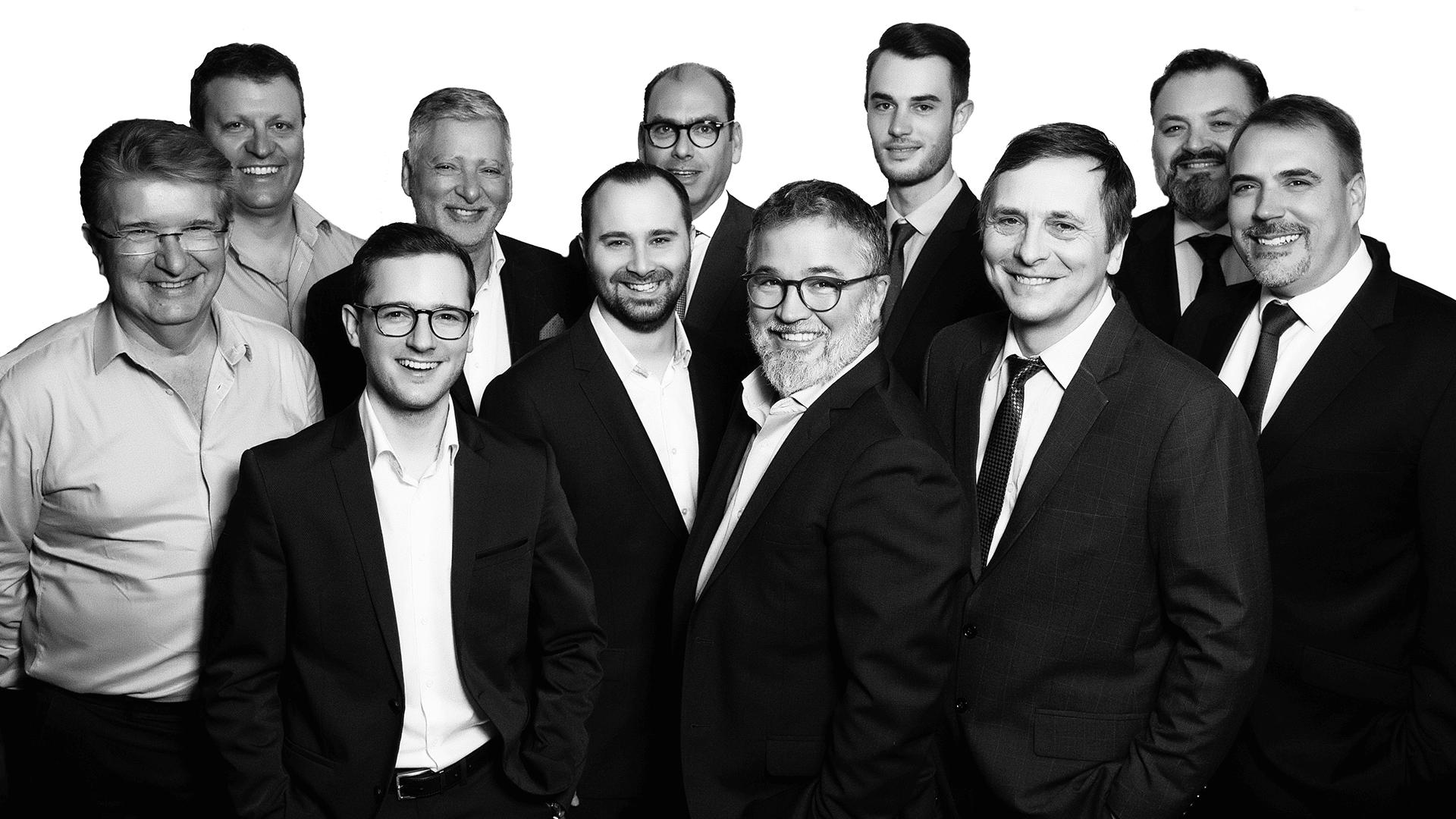 Team Darest - Employés commerciaux et marketing - Darest Informatic