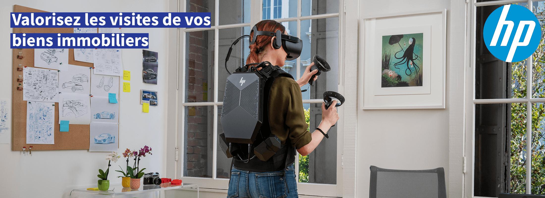 Banner 1 HP Z VR - Darest