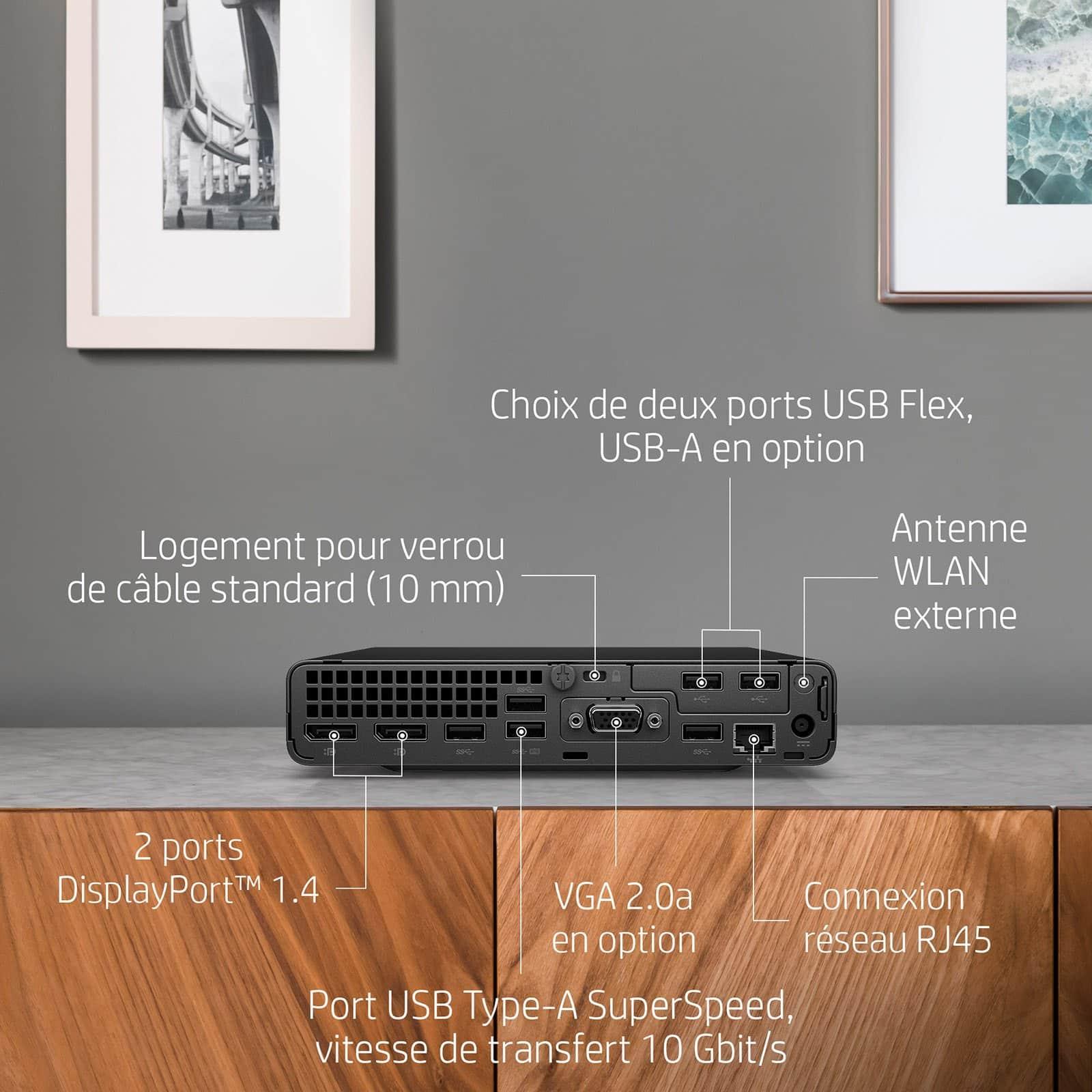 HP EliteDesk 800 G6 - Vue des autres fonctionnalités - Darest