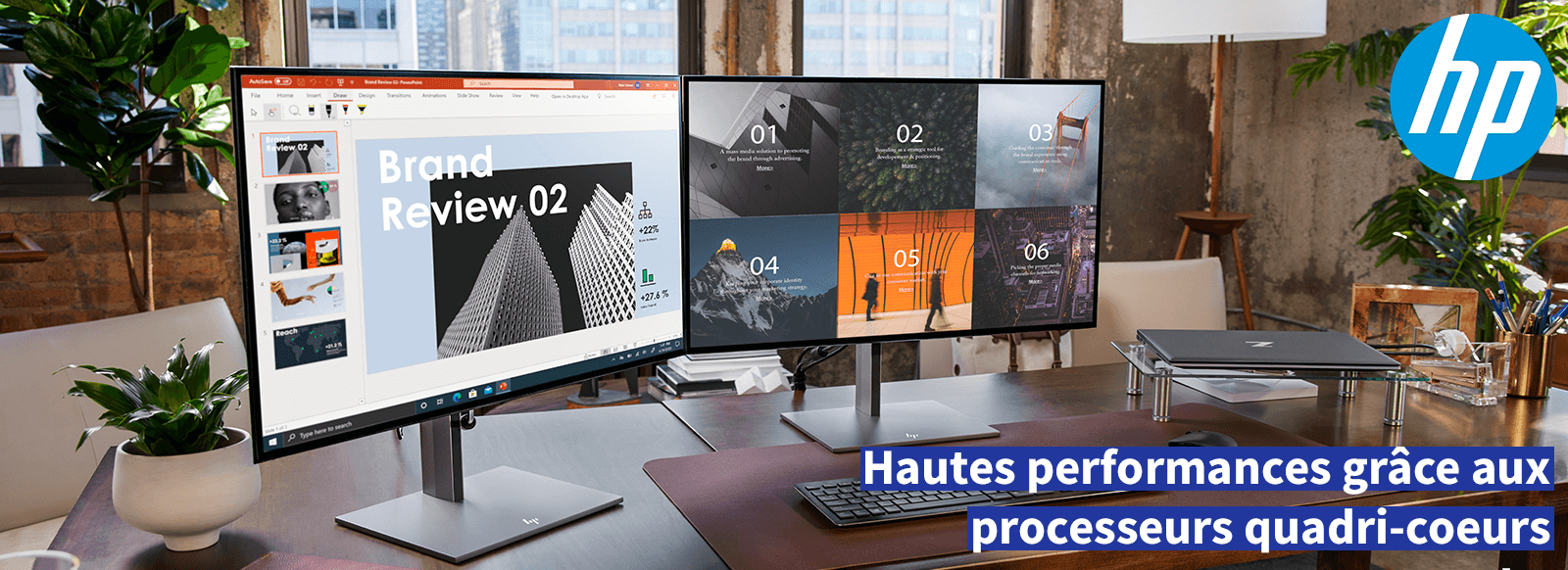 Banner HP Zbook Firefly - Processor performance - Darest