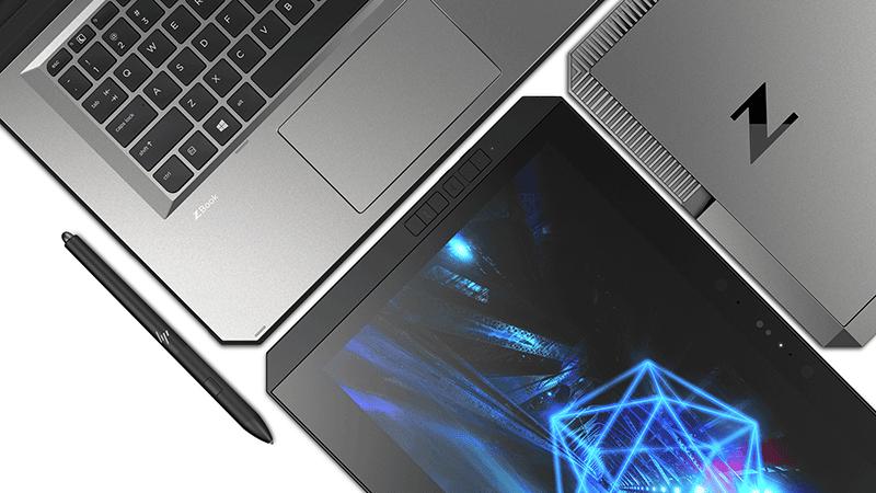 HP Zbook x2 - Vue du haut - Darest