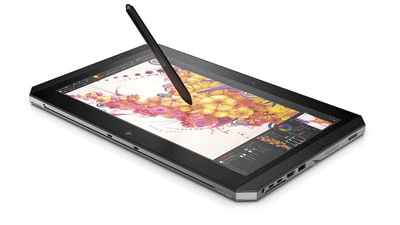 HP Zbook x2 - Vue avec stylet - Darest
