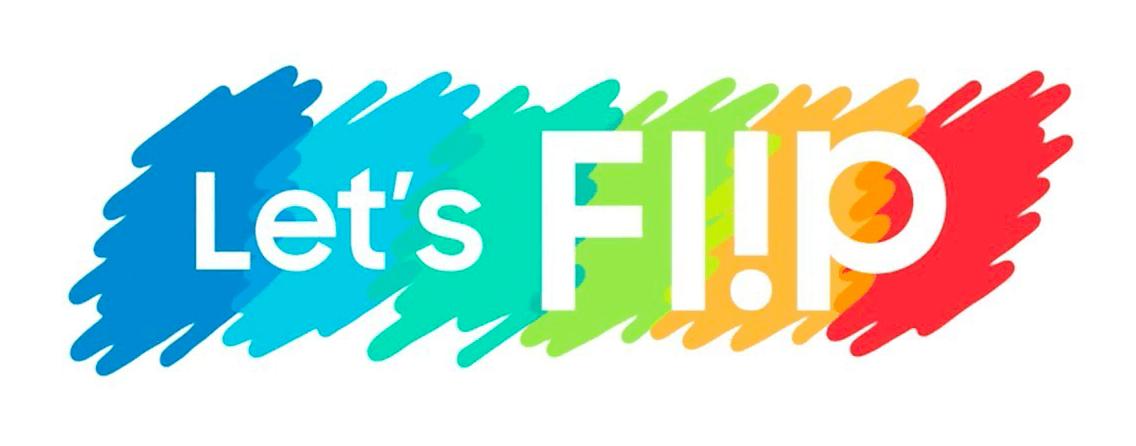 Samsung Flip 2 - Let's Flip Logo - Darest
