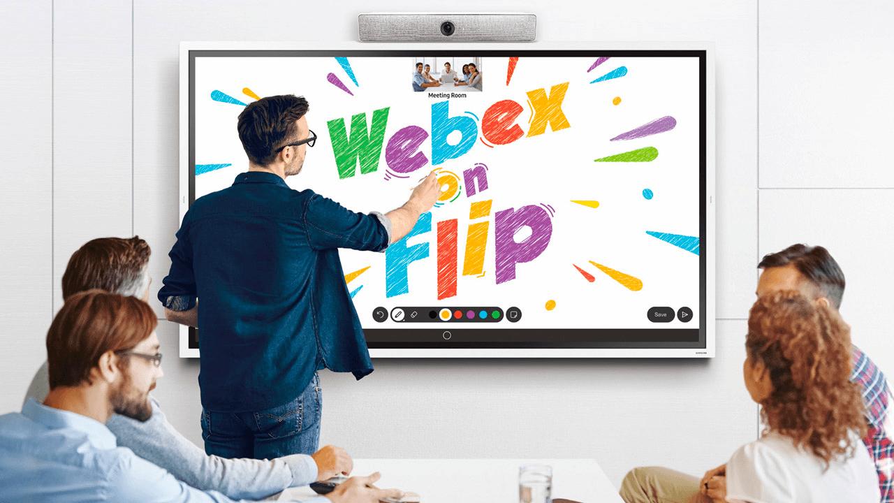 Samsung Flip 2 - Webex Meeting - Darest
