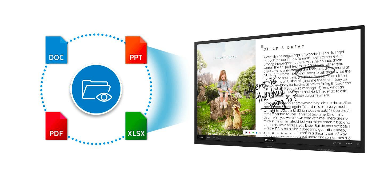 Samsung Flip 2 - Document Sharing - Darest